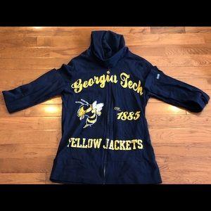 Georgia Tech Yellow jackets lightweight jacket szM